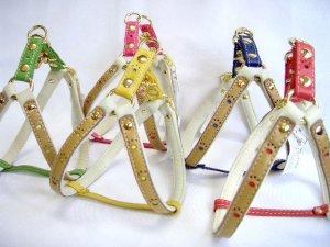 画像1:  [イタリアン] 胴輪・小型〜中型犬用(34〜45cm)
